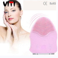 Hot Selling Machine Health And Beauty Facial cleaning Sonic Electric Silicone Facial Brush