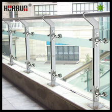 Europe favorite new model 304 stainless steel handrail balustrade,railing banister,,tempered glass fence panels