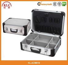Professional silver aluminum makeup case, beauty box makekup vanity case, cosmetic case
