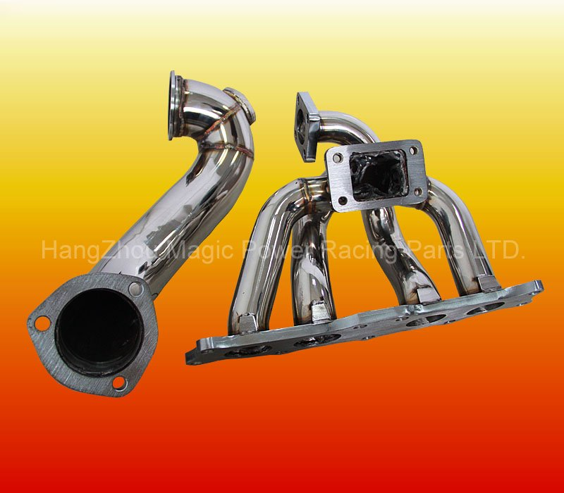 Turbo Exhaust Manifold with Downpipe for TOYOTA