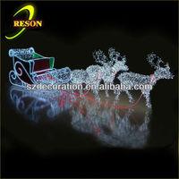 christmas decorative light cinderella carriage pumpkin