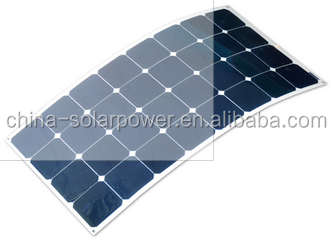 2015 hot selling high efficiency amorphous silicon thin film flexible solar panel