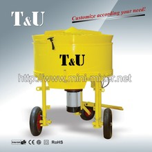 manual mini cement mixer,cement mixing machine ,pan cement mixer in China