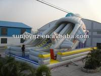 Hot! Newly design inflatable slide