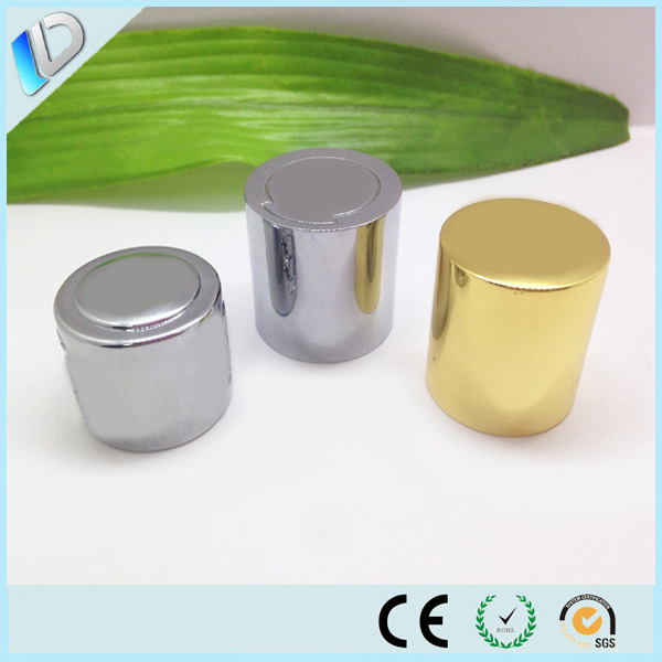 10ml 15ml 20ml 30ml 50ml 100ml glass bottle with aluminium screw cap,metal perfume cap