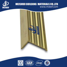 Solid brass stair nosing for stair edge protection