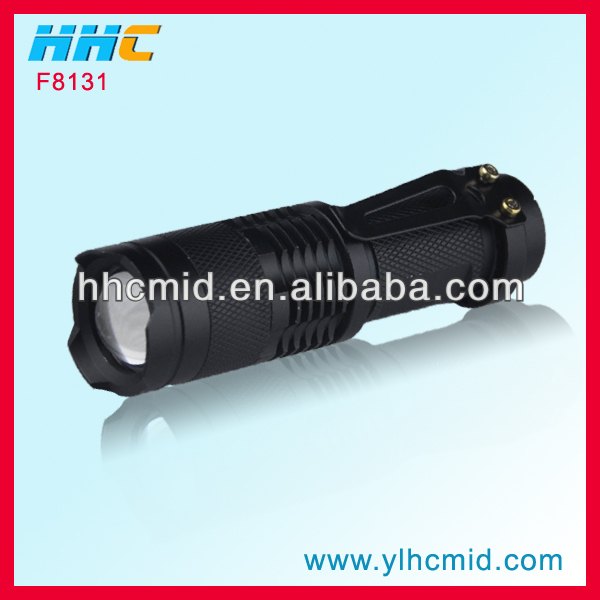New Design <strong>CREE</strong> Q5 Mini Torch Waterproof Led Flashlight