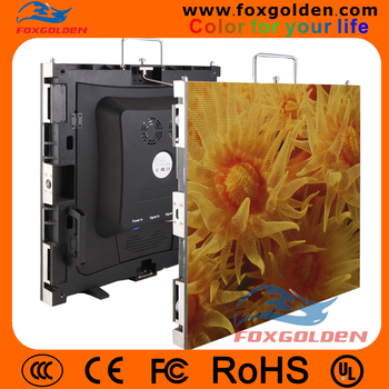 Indoor HD p4 SMD full color Die-Casting electronic advertising led display