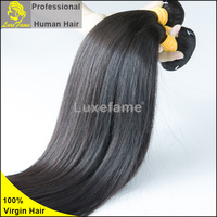 Luxefame hair good quality Brazilian new products 100% human virgin clip in hair extension