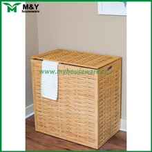 Cheap and durable bamboo laundry hamper