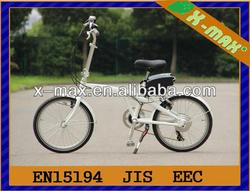 X-EB39 20'' aluminium alloy frameelectric start pocket bike with SHIMANO 6Speed gears