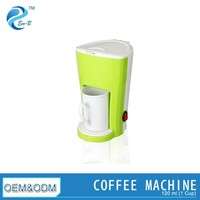 Mini 1 Cups Removable Coffee Maker Machine with Washable Fitler