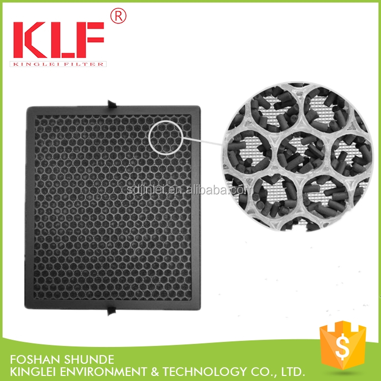PP honeycomb activated carbon filter price