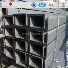 Alibaba.com ms s235jr ss400 u channel steel