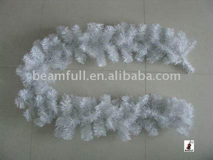 White Plastic Christmas Garland Christmas Decoration - Buy ...