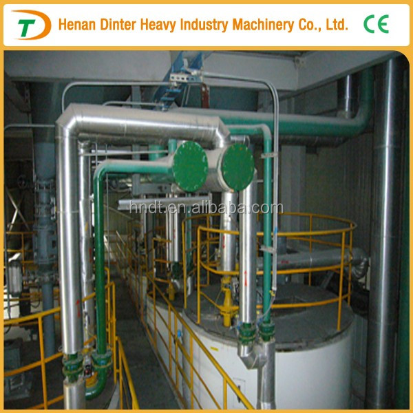 Complete in specifications of crude oil refining facility