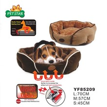 Stocked Promotion Price Fur Large Heated Dog Beds Pet Self Warming Beds Winter