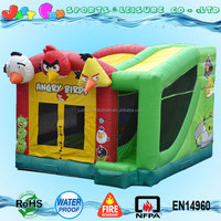 birds themed bouncy castle slide combo,cheap inflatable combos bouncer for sale