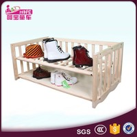 Solid Wooden 3 in 1 Sweet Lovely Baby Crib Furniture Sets