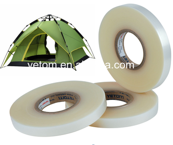 2 layer seam sealing tape for outdoor camping tents