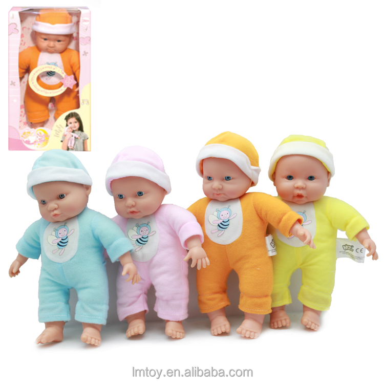 27cm Lovely Baby dolls Nighty Small Plastic Speaking Baby dolls Manufacturer