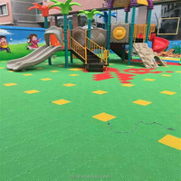 Cheap PP suspended interlocking sports flooring