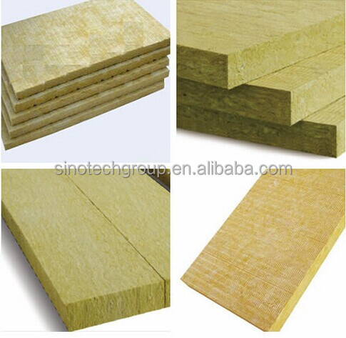 Machine Of Rock Wool Mineral Wool For Roofing Insulation