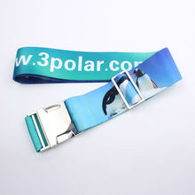 New promotional luggage strap with metal buckle