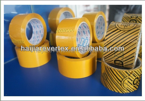 Customized adhesive bopp manufacturer self tape for packing and sealing
