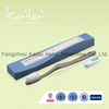 transparent cheap plastic hotel toothbrush kit/dental kit folded toothbrush/disposable toothbrush oral care