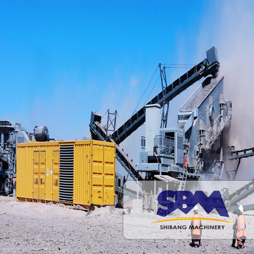 Customized service and high quality complete granite 150t stone crushing production line