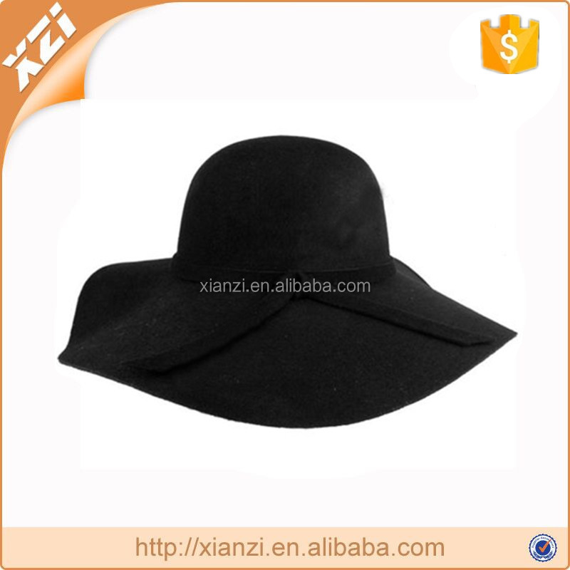 wide brim wool felt hats british style grace and elegance hats floppy fashion hats