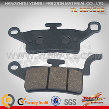 Best motorcycle brake pads/chinese chopper motorcycle