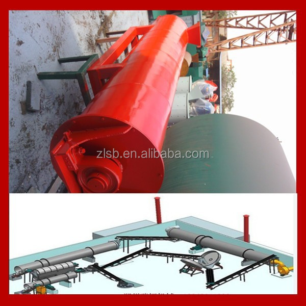 oil palm fertilizer granulator/organic fertilizer pellet machine