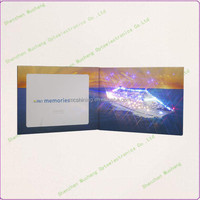 High Quality LED Lights Paper Christmas Photo Frame