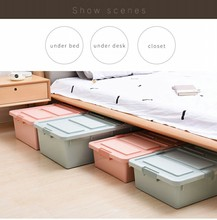 Houseware plastic storage container/under bed plastic storage box with lid