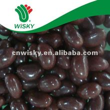 chocolate soft jelly bean candy (chocolate flavour)