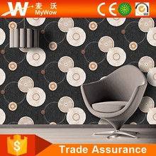 2016 Wholesale Wood Wallpaper Black And White 3d Wall Paper