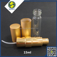 15ml noble aluminium fragrance atomizer