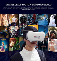 2016 New products portable 2nd generation 3D VR BOX 2 Virtual Reality 3D Glasses for open sex video