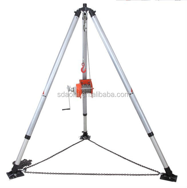 confined space emergency rescue equipment tripod