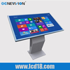 42 inch lcd touch screen display interactive kiosk digital signage HD screen
