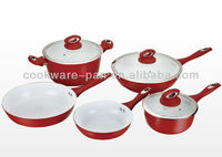 Europe and America Hot sale forged kitchen cookware sets