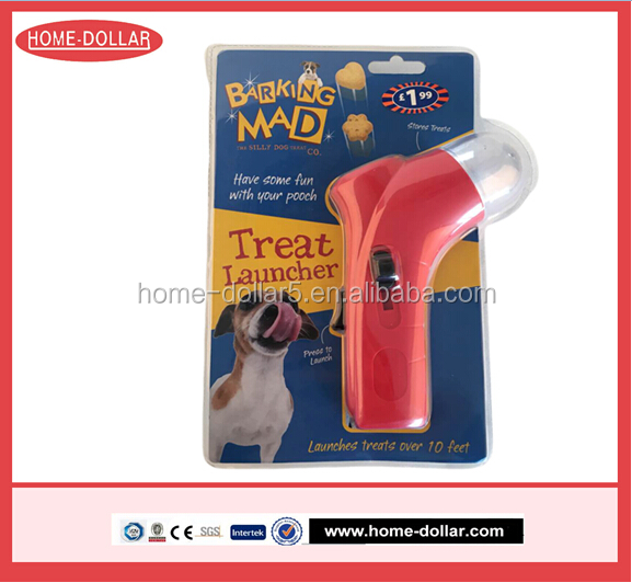 New Pet Treat Launcher With Food To Training Dog Toys