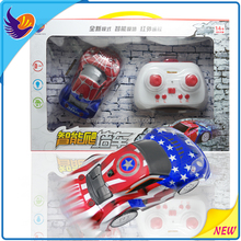 2016 newly remote control mini wall climbing car toys for kids
