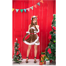 Hot Wholesale Fashion Unique High-quality Elk Sexy Christmas Costume