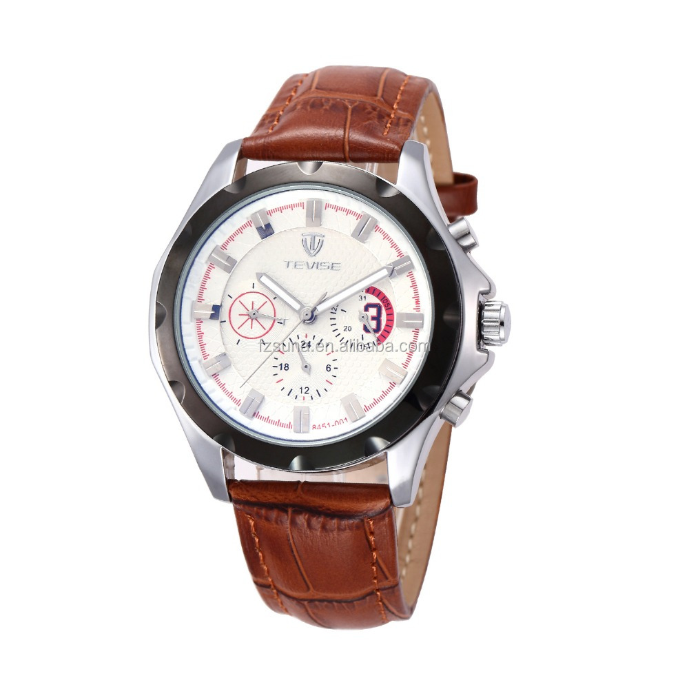 Hong Kong Tevise Boys Clock Brand Watches Men Sport Watches
