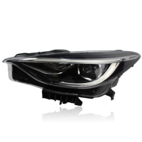 used original car auto lighting headlight for QX30