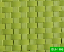 New style high quality bright colored broad PE rattan material for outdoor furniture