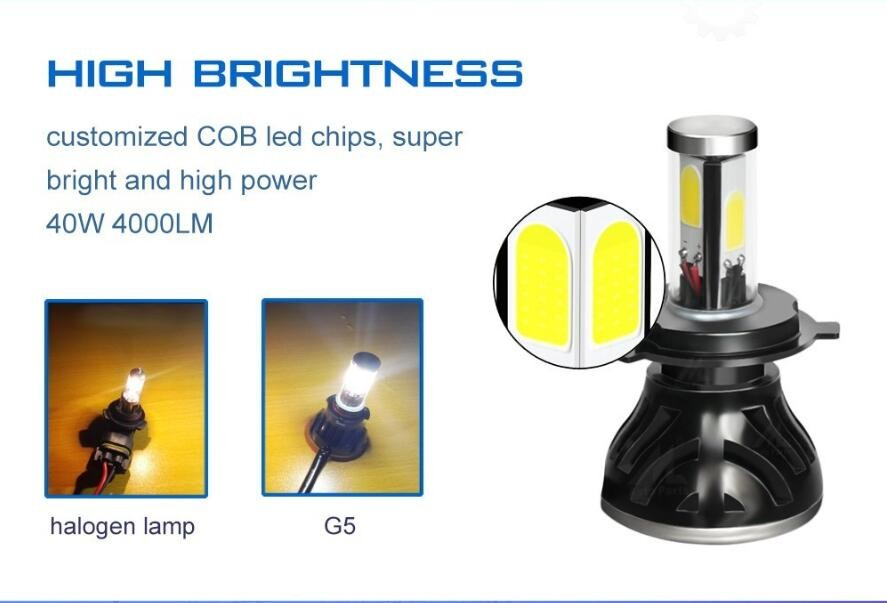 car parts,high power led headlight h11 80w 6000k auto led headlight bulbs fans cooling 12v 24v cars led head light h11 lighting
